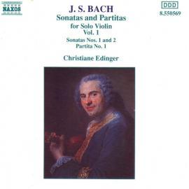 Sonatas and Partitas For Solo Violin Vol. 1 - Johann Sebastian Bach