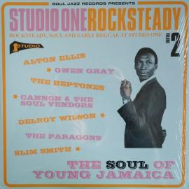 Studio One Rocksteady Volume 2 (Rocksteady, Soul And Early Reggae At Studio One: The Soul Of Young Jamaica) - Various Production