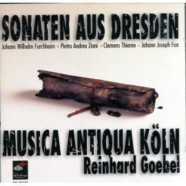 Sonaten Aus Dresden - Musica Antiqua Köln