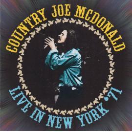 Live In New York '71 - Country Joe McDonald