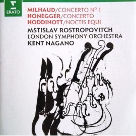 Cello Concerto No. 1 - Cello Concerto - Noctis Equi - Darius Milhaud