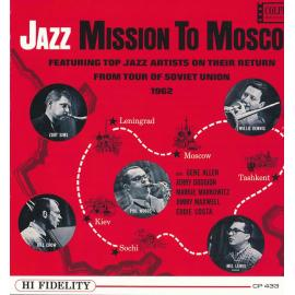Jazz Mission To Moscow (Featuring Top Jazz Artists On Their Return From Tour Of Soviet Union 1962) - Zoot Sims