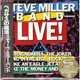 ...Live ! - Steve Miller Band