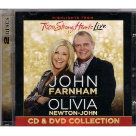 Highlights From Two Strong Hearts Live (CD & DVD Collection) - John Farnham