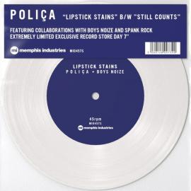 Lipstick Stains / Still Counts - Poliça
