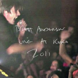 Live at Koko 2011 - Brett Anderson