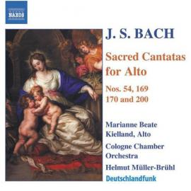 Sacred Cantatas For Alto  - Johann Sebastian Bach