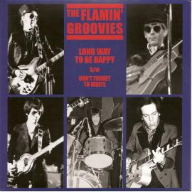 Long Way To Be Happy b/w Don't Forget To Write - The Flamin' Groovies