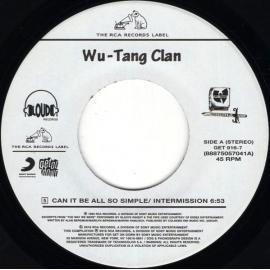 Can It Be All So Simple / Da Mystery Of Chessboxin' - Wu-Tang Clan