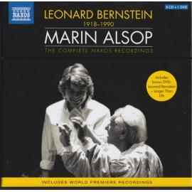 Leonard Bernstein 1918 - 1990 / Marin Alsop - The Complete Naxos Recordings - Leonard Bernstein