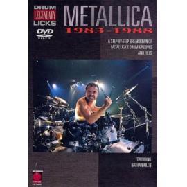LEGENDARY LICKS-DRUM- - Metallica