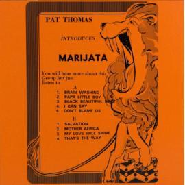 Pat Thomas Introduces Marijata - Pat Thomas
