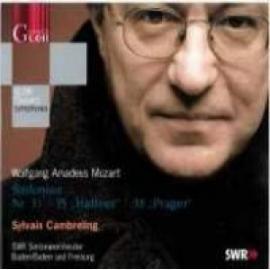 "Sinfonien Nr. 33   35 ""Haffner""   38 ""Prager"" - Wolfgang Amadeus Mozart"