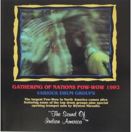 Pow-Wow 1992 - Various Drum Groups - Native Americans In Тhe United States