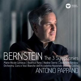 Bernstein The 3 Symphonies - Leonard Bernstein