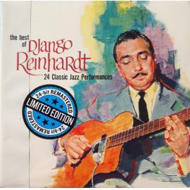 The Best Of Django Reinhardt (24 Classic Jazz Performances) - Django Reinhardt