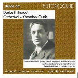 Orchestral & Chamber Music - Darius Milhaud