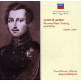 Music of Albert. Prince of Saxe, Coburg and Gotha. Sixteen Lieder - Albert, Prince Consort
