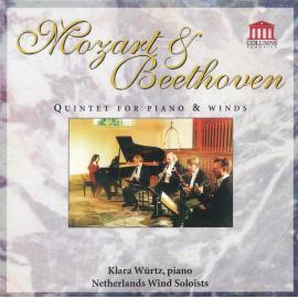 Mozart & Beethoven - Quintet For Piano & Winds - Klára Würtz