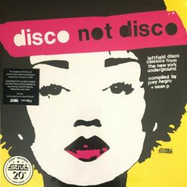 Disco Not Disco (Leftfield Disco Classics From The New York Underground) - Various Production