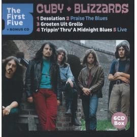 The First Five + Bonus CD - Cuby + Blizzards