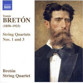 String Quartets Nos. 1 And 3 - Tomás Bretón