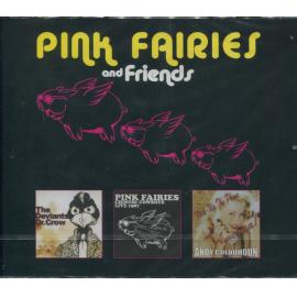 Chinese Cowboys / Dr. Crow / Pick-Up The Phone America! - The Pink Fairies