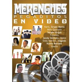 MERENGUES PEGADITOS EN VIDEO- -DVD- - VARIOUS ARTISTS