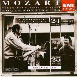 Mozart Piano Concertos No.24, K.491 & No.25, K.503 - London Classical Players