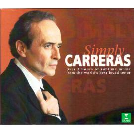 Symply Carreras - Over 3 hours of sublime music from the world's best loved tenor - José Carreras