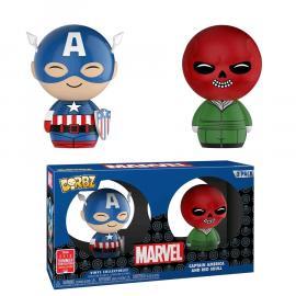 Funko - Dorbz - Marvel - Captain America / Red Skull (2pack) -