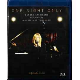 One Night Only: Barbra Streisand And Quartet Live At The Village Vanguard - Barbra Streisand