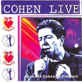 Cohen Live (Leonard Cohen In Concert) - Leonard Cohen