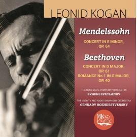 Concerto For Violin And Orchestra In E Minor, Op. 64 And  Concerto For Violin And Orchestra In D Major, Op. 61 - Leonid Kogan