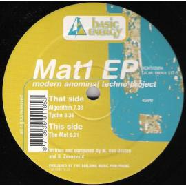 The Mat 1 EP - Modern Anominal Techno Project