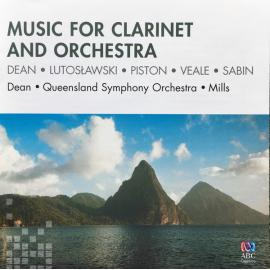 Music For Clarinet and Orchestra - Brett Dean