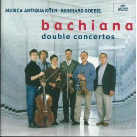 Bachiana - Double Concertos - Musica Antiqua Köln