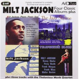 Four Classic Album Plus (Plus Three Tracks With The Thelonious Monk Quartet) - Milt Jackson