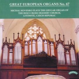 Michal Novenko Plays The Grygar Organ Of The Holy Cross Deanery Church, Litomyšl, Czech Republic - Michal Novenko