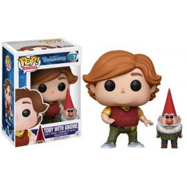 Funko - PoP! Television - Troll Hunters - Toby With Gnome (467) -