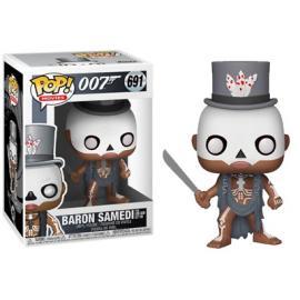 Funko Pop! Movies: - James Bond - Baron Samedi -