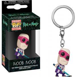 Rick And Morty: Funko Pop! Keychain - Noob-Noob -