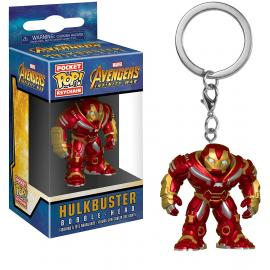 Funko - PoP! Pocket Keychain - Marvel Avengers - Hulkbuster (Bobble-Head) -