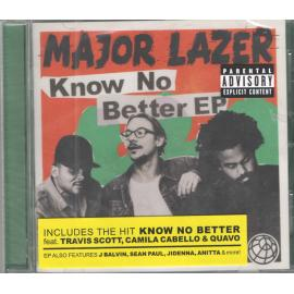 Know No Better EP - Major Lazer