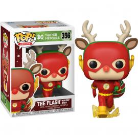 THE FLASH HOLIDAY DASH #356-FUNKO POP! HEROES DC SUPER HEROES  -
