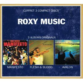 Manifesto / Flesh & Blood / Avalon - Roxy Music