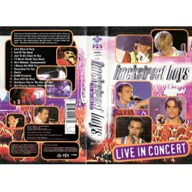 LIVE IN CONCERT-VHS - Backstreet Boys