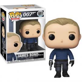 JAMES BOND FROM NO TIME TO DIE #1011-FUNKO POP! 007 JAMES BOND -