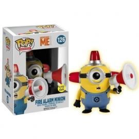 Funko - Movies: Despicable Me - Fire Alarm Minion POP! Vinyl /Toys -