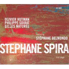 First Page - Stéphane Spira